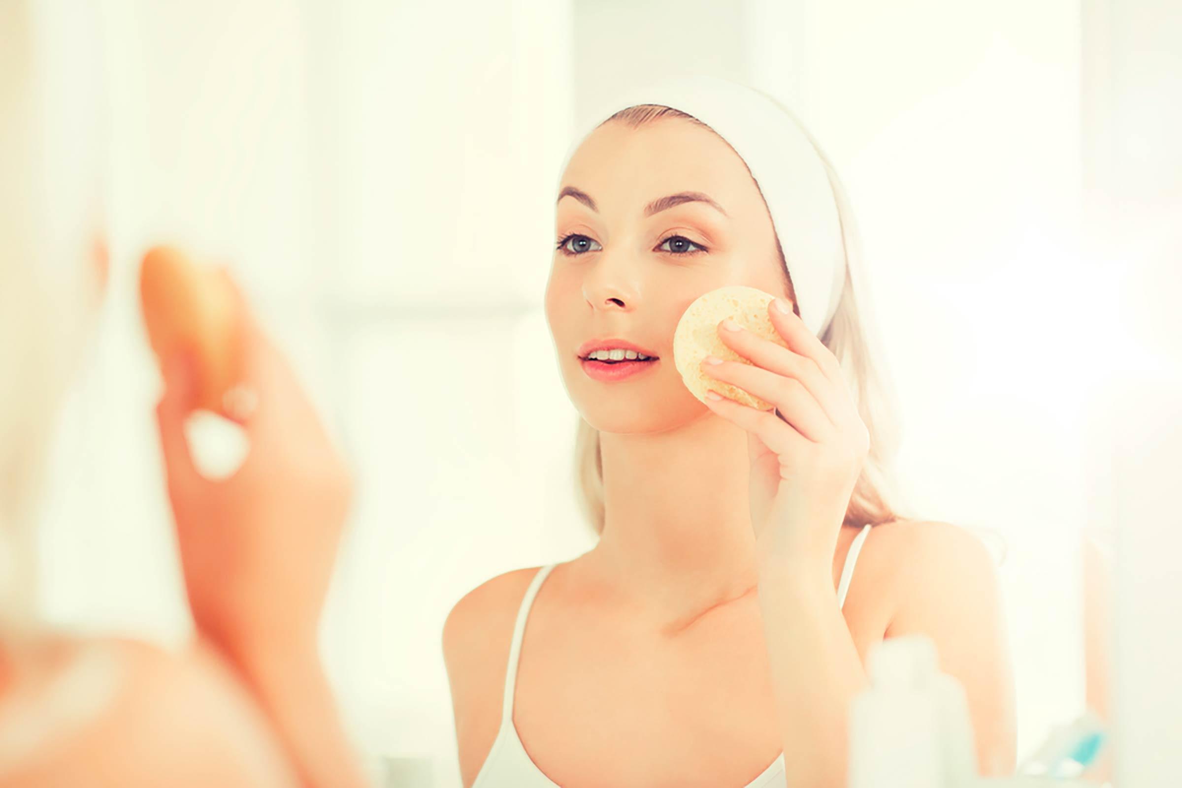 Le vinaigre pour purifier le visage
