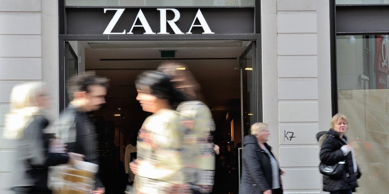Raisons de changement de logo de Zara